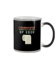 I SURVIVED THE GREAT TOILET PAPER CRISIS OF 2020 Color Changing Mug thumbnail