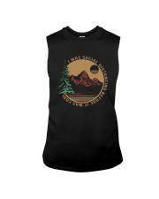I WAS SOCIAL DISTANCING BEFORE IT WAS COOL HIKING Sleeveless Tee thumbnail