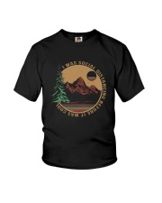 I WAS SOCIAL DISTANCING BEFORE IT WAS COOL HIKING Youth T-Shirt thumbnail