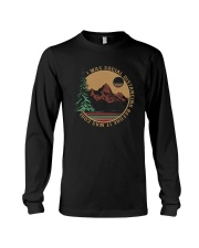 I WAS SOCIAL DISTANCING BEFORE IT WAS COOL HIKING Long Sleeve Tee thumbnail