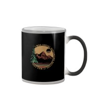 I WAS SOCIAL DISTANCING BEFORE IT WAS COOL HIKING Color Changing Mug thumbnail