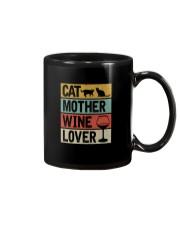 CAT MOTHER WINE LOVER Mug thumbnail
