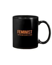 FEMINIST IS MY SECOND FAV FWORD Mug thumbnail