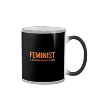 FEMINIST IS MY SECOND FAV FWORD Color Changing Mug thumbnail