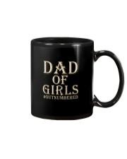 DAD OF GIRLS OUTNUMBERED Mug thumbnail