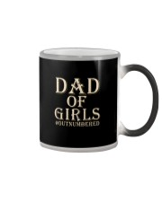 DAD OF GIRLS OUTNUMBERED Color Changing Mug thumbnail