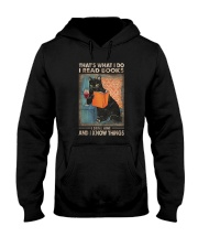 THAT'S WHAT I DO I READ BOOKS AND I KNOW THINGS Hooded Sweatshirt thumbnail