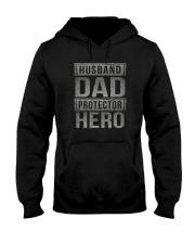 HUUSBAND DAD PROTECTOR HERO Hooded Sweatshirt thumbnail