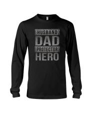 HUUSBAND DAD PROTECTOR HERO Long Sleeve Tee thumbnail