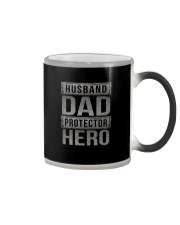 HUUSBAND DAD PROTECTOR HERO Color Changing Mug thumbnail