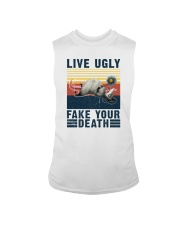 LIVE UGLY FAKE YOUR DEATH VINTAGE Sleeveless Tee thumbnail