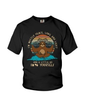 AND A LITTLE GO F YOURSELF SLOTH Youth T-Shirt thumbnail