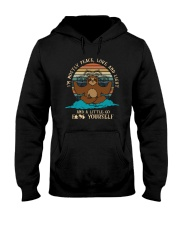 AND A LITTLE GO F YOURSELF SLOTH Hooded Sweatshirt thumbnail