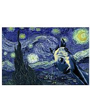STARRY NIGHT HORSE 24x16 Poster front