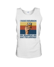 I MAKE BOURBON DISAPPEAR Unisex Tank tile