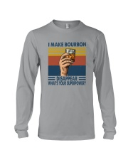 I MAKE BOURBON DISAPPEAR Long Sleeve Tee thumbnail