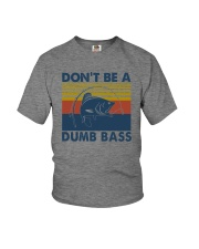 DON'T BE A DUMB BASS Youth T-Shirt tile