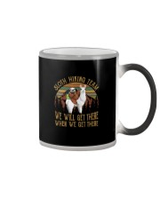 SLOTH HIKING TEAM Color Changing Mug thumbnail
