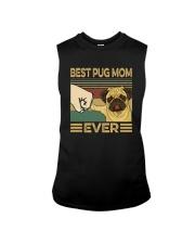 BEST PUG MOM EVER s Sleeveless Tee thumbnail