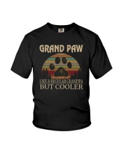 GRAND PAW COOLER GRANDPA Youth T-Shirt thumbnail