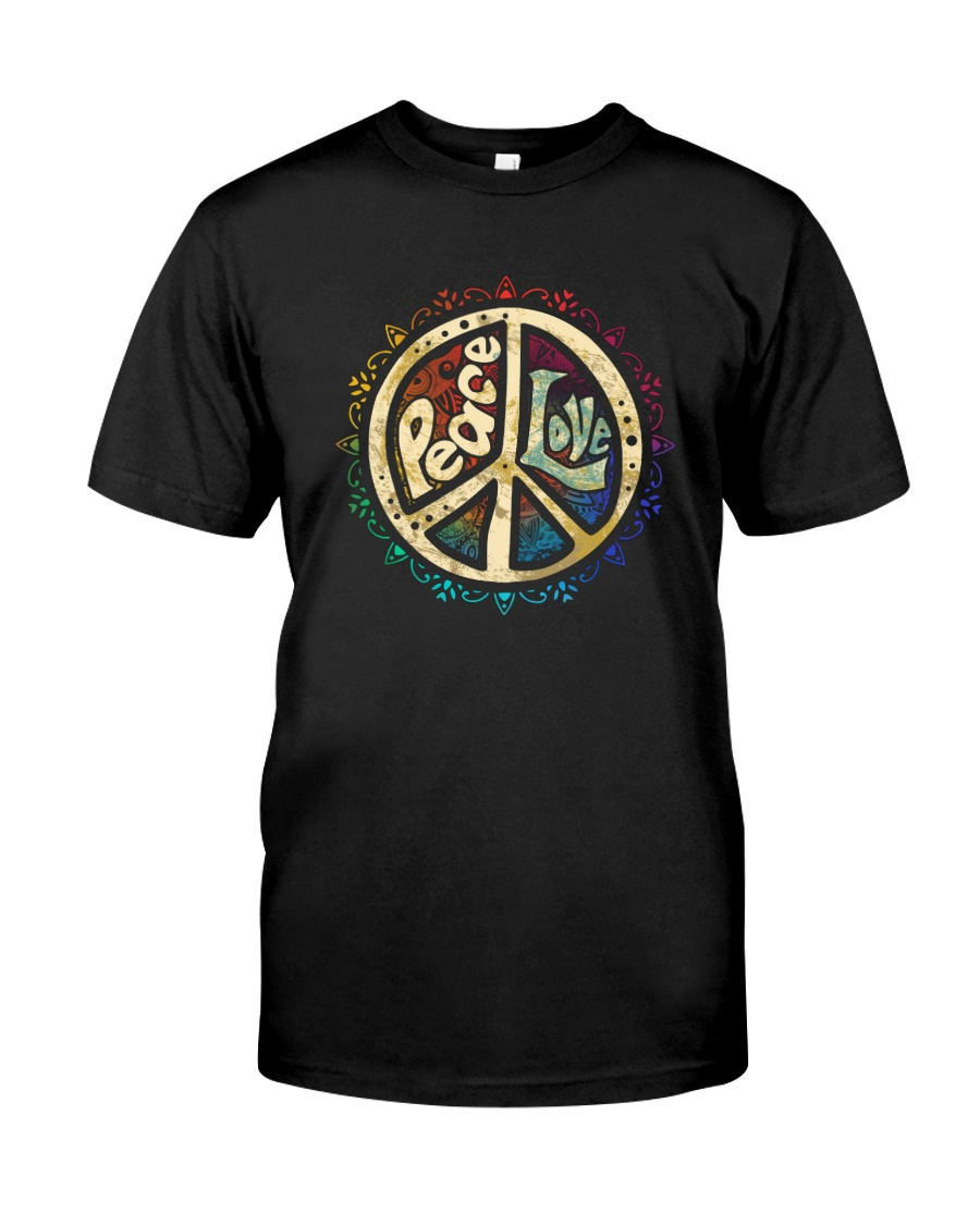 PEACE LOVE HIPPIE Classic T-Shirt