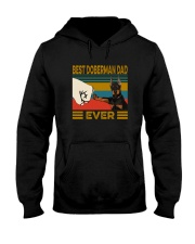 BEST  Doberman DAD EVER Hooded Sweatshirt thumbnail