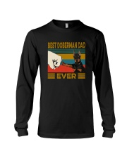 BEST  Doberman DAD EVER Long Sleeve Tee thumbnail