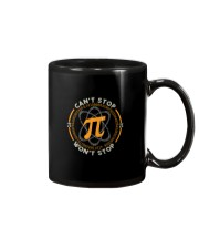 CAN'T STOP WON'T STOP PI FUNNY MATH Mug tile