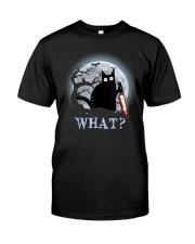 WHAT CAT Classic T-Shirt front