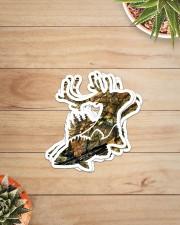 FISH DEER Sticker - 4 pack (Vertical) aos-sticker-4-pack-vertical-lifestyle-front-07