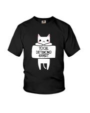 SOCIAL DISTANCING EXPERT Youth T-Shirt thumbnail