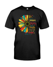 SHE IS CLOTHED IN STRENGTH AND DIGNITY Classic T-Shirt front