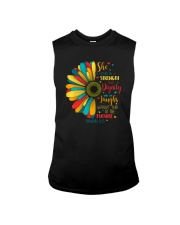 SHE IS CLOTHED IN STRENGTH AND DIGNITY Sleeveless Tee thumbnail