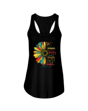 SHE IS CLOTHED IN STRENGTH AND DIGNITY Ladies Flowy Tank thumbnail