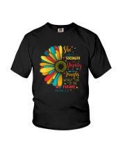 SHE IS CLOTHED IN STRENGTH AND DIGNITY Youth T-Shirt thumbnail