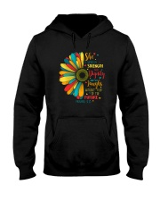 SHE IS CLOTHED IN STRENGTH AND DIGNITY Hooded Sweatshirt thumbnail