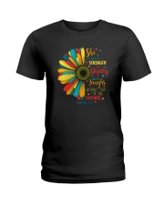 SHE IS CLOTHED IN STRENGTH AND DIGNITY Ladies T-Shirt thumbnail