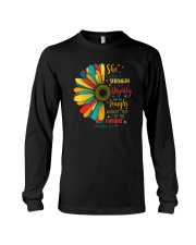 SHE IS CLOTHED IN STRENGTH AND DIGNITY Long Sleeve Tee thumbnail