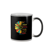 SHE IS CLOTHED IN STRENGTH AND DIGNITY Color Changing Mug thumbnail