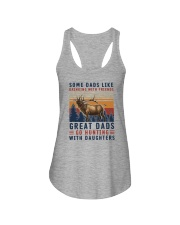 GREAT DADS GO HUNTING WITH DAUGHTERS Ladies Flowy Tank thumbnail