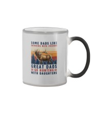 GREAT DADS GO HUNTING WITH DAUGHTERS Color Changing Mug thumbnail