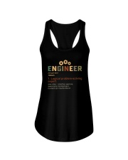ENGINEER noun Ladies Flowy Tank thumbnail