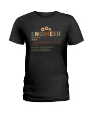 ENGINEER noun Ladies T-Shirt thumbnail