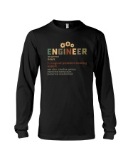 ENGINEER noun Long Sleeve Tee thumbnail