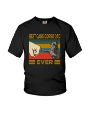 Best Cane Corso Dad Ever Youth T-Shirt thumbnail