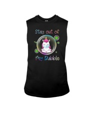STAY OUT OF MY BUBBLE Unicorn Sleeveless Tee thumbnail