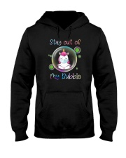 STAY OUT OF MY BUBBLE Unicorn Hooded Sweatshirt thumbnail