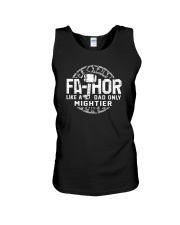 FATHOR LIKE A DAD ONLY MIGHTIER Unisex Tank tile