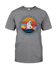 I'M A HUGE FAN OF SPACE Classic T-Shirt front