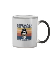SOME MOMS CUSS TOO MUCH Color Changing Mug thumbnail